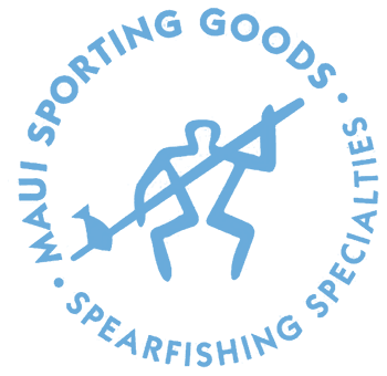Maui Sporting Goods Spearfishing Specialties home page logo